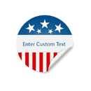 Custom Campaign Stickers, Political Labels, 2