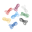 (Price/100 Clips) Officeship Awareness Ribbon Shaped Paper Clips, 1 1/4