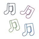 (Price/100 Paper Clips) Lyric Shaped Paper Clips, 1