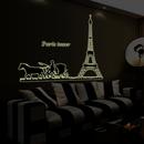 Aspire Fluorescent Luminous Wall Decals for Home/Restaurant/Window Decoration, 23 1/2