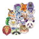 High Quality Outdoor Grade Animal Vinyl Decals Luggage DIY Sticker, 35 PCS per Pack