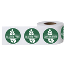 Officeship 500 PCS 1.5 Inch Gluten Free Labels, Food Rotation Labels