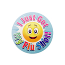 Officeship I Just Got My Flu Shot Sticker, 200pcs per Roll, 2