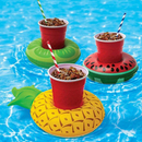 12 PCS Inflatable Drink Holders, Inflatable Pool Party Drink Floats