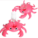 6 PCS Inflatable Crab Cup Floaties, Drink Holder for Pool Float Floating