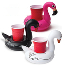 6 PCS Inflatable Swan Drink Holders, Inflatable Pool Floats, Inflatable Pool Party Drink Floats