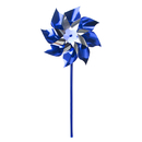 GOGO 100 PCS 7 Inch No Excuse For Child Abuse Mylar Pinwheel