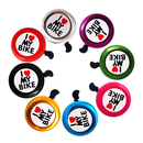 (Price/6 PCS)Blank Bicycle Bell