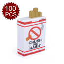(Price/100 PCS) Aspire Cigarette Box Stress Ball, 1/4
