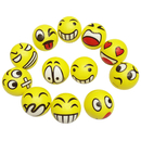 Aspire 12 Assorted Emoji Face Squeeze Balls,Finger Exercise/Stress Relief,3