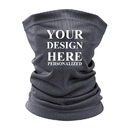TOPTIE Personalized Custom Neck Gaiter for Men Women,Breathable Sun Protection Mesh Cooling Neck Gaiter Face Mask