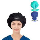 TOPTIE Personalized Custom Tie Back Cotton Bouffant Scrub Chemo Hat Skull Cap for Women