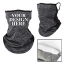 TOPTIE Personalized Custom Mesh Cooling Neck Gaiter with Filter Pocket and One Free Filter for Men Women Youth