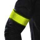 GOGO Adjustable Reflective Arm Bands High Visibility Band for Running, Cycling, Walking, Hiking