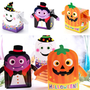 50 PCS Halloween Party Favors Boxes Candy Treat Boxes, Halloween Party Supplies, Gift Boxes Supplies