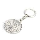 Aspire 50 years Perpetual Calendar Compass Key Chain 6PCS/PACK