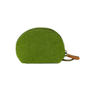 (Pack of 2)Aspire Felt Coin Purse Zipper Pouch Key Chain