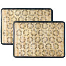 Non-Stick Silicone Baking Mat, 2 Half Sheets Mats (11 5/8