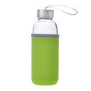 Aspire 5oz , 10oz , 14oz , 18oz Glass Water Bottle with Insulated Sleeve