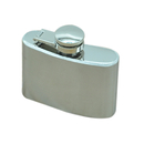 Blank Hip Flask, 2-oz, 2 3/5