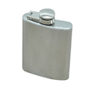 Blank Stainless Steel Flask, 3.5 Ounce, 4 1/5