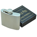 Blank Stainless Steel Pocket Flask, 5 Ounce, 3 4/5