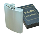 Blank Wine Hip Flask, 10 oz, 3 4/5