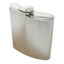 Blank Stainless Steel Flask, Liquor Bottle, 48 oz, 6 7/10