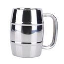 Blank 18.5oz Double Walled Insulated Coffee Mug, Stainless Steel