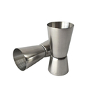 (Pack of 2) Aspire Stainless Steel Double Jigger, 30 ml-50 ml