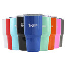 Aspire Customized 30 Oz. Double Walled Insulated Tumbler, Stainless Steel With Your Engraved Text