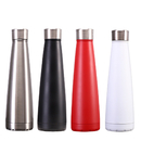 Aspire 17 oz. Stainless Steel Water Bottle, Double-Insulated Leak Proof Drinks Bottle for Sports Gym