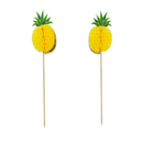 (Pack of 30) Aspire Pineapple Flamingo Summer Umbrella Pitaya Pirate Cocktail Sticks, Cupcake Toppers, Party Decoration, Halloween Christmas Party Favors