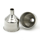 Blank Flask Funnel, Stainless Steel, 1 1/2