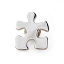 (Price/50PCS) ALICE Crucial Puzzle Piece  Lapel Pins, 1