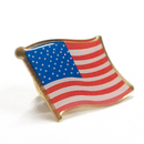 (Price/6PCS) ALICE USA Flag Pin, Size 1