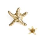 ALICE 3D Cast Starfish Lapel Pin Brooch, 3/4