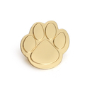 (Price/25PCS) ALICE Cast Gold Paw Lapel Pin with Butterfly Clutch, 1