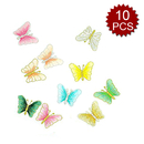 Alice 10Pieces Colorful Butterfly Applique Patches Embroidery Iron on Patches
