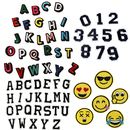 Alice Number Alphabet Letter/Set Patches Applique Embroidered Iron On Badge DIY