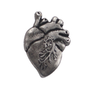 Opromo Medical Anatomical Human Heart Lapel Pin, 1