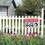 Aspire Aluminum Beware Of Dog Sign, Warning Dog Sign, Easy to Mount