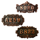 Aspire Customized Home Address Sign, House Hotel Number Sign, Address Plaque Sign, Small Size, Approx 4.3 x 7.2 inches
