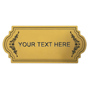 Aspire Customized Plastic Sign With Your Message, Name Plate, Laser Engraved