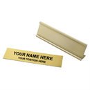 Aspire Personalized Office Name Plate With Desk Holder, 2x8