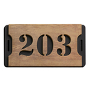 Aspire Customized House Number Address Plaque, Personalized Hotel Apartment Mailbox Sign, Small Size
