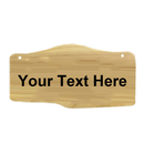 Aspire Personalized Wooden Address Plaque, Custom Double Sided House Hotel Office Number Sign
