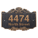 Aspire Personalized House Number Plaque, Street Address Signs, Custom House Numbers and Letters
