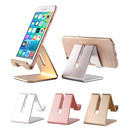 Universal Aluminium Desktop Charging Stand for Smartphone and Tablets, Cell Phone Stand, Holder Compatible with iPhone Xs XR 8 X 7 6 6s Plus Charging, Accessories Desk, Android Smartphone