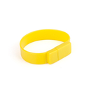 Officeship 2G Silicone USB Bracelet--Yellow
